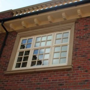 timber sash windows Lymington New Forest
