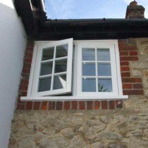Timber casement windows lymington