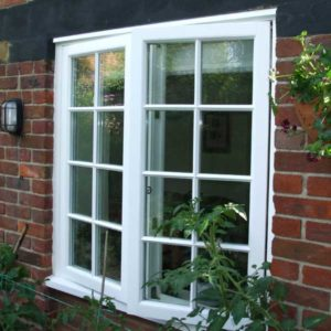timber flush windows Lymington New Forest