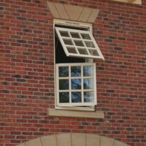 wooden windows Lymington New Forest