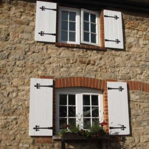 wooden cottage windows New Milton
