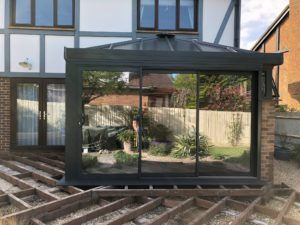 modern extension lymington