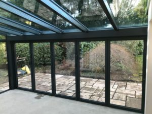 glass extension lymington